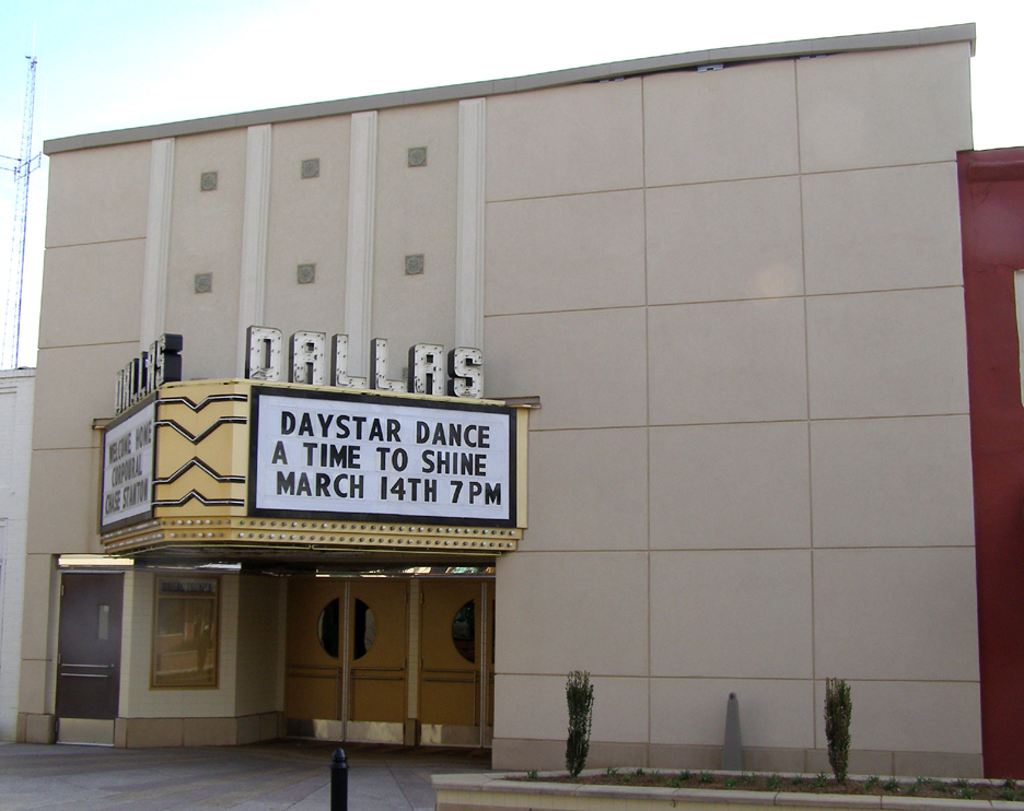 Dallas Theater After - Exterior